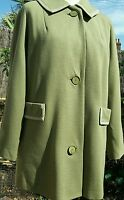Barnett-Hutton 1950s Lana-knit Double Knitted 100% Worsted Wool Skirt 8 Suit 14