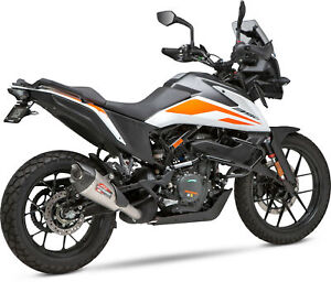 Yoshimura AT2 Stainless Slip-On Exhaust - KTM 390 Adventure 2020