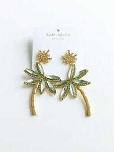 Kate spade New York California dreaming palm tree earrings