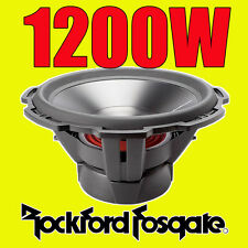 "Rockford FOSGATE 15"" 15-Inch 1200w CAR AUDIO SUBWOOFER Bass Sub Punch p3d415"