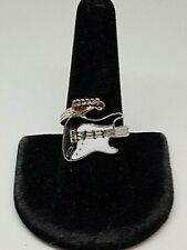 NEW!!! Guitar Ring Size 9