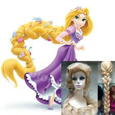 Disney Film Tangled Rapunzel Cosplay Perücke Lange Blonde Free Wig Kappe Party