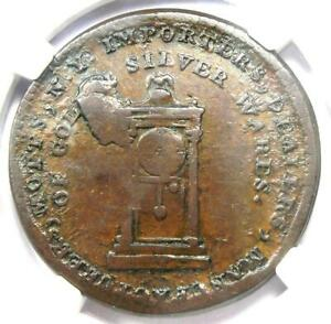 1789 Mott Company Token Colonial Coin - Certified NGC XF45 (EF45) - Rare!