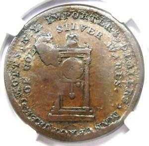 1789 Mott Company Token Colonial Coin - Certified NGC XF45 (EF45) - Rare!