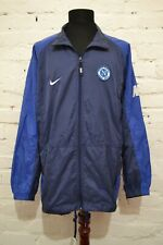 VINTAGE NAPOLI FOOTBALL SOCCER TRAINING TRACKSUIT TRACK TOP RAIN JACKET NIKE XL