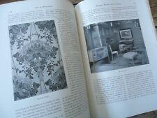 ART & DECO 1908 VITRAUX ETRANGERS MOBILIER G DE FEURE POTERIE METIERS