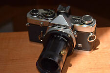 Olympus Black Finish OM-2 MD in Clean condition w/extension tube.