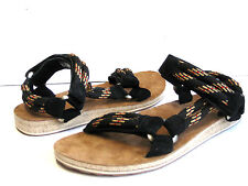 Teva Universal Rope Black Sandals Men US 7 / Women US 9
