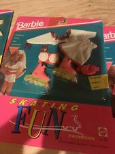 Barbie Skiing Fun Fashions For Barbie Doll- NIP Skates Really Roll!