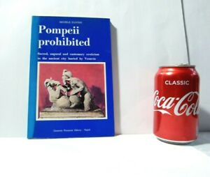 Vintage Book Pompeii Prohibited Eroticism by Michele D'avino with Illustrations