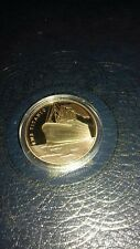 1 GOLD PLATED  TITANIC COLLECTIBLE  EXCITING COIN Includes coin case uk stock
