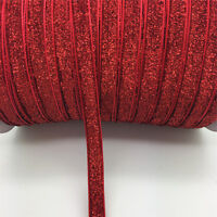"New DIY 5 yards 3/8 ""10mm Velvet Ribbon Headband Clips Bow Decoration NO6"