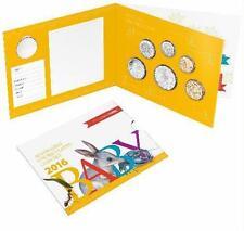 2016 Baby Mint Set 5c, 10c, 20c, 50c, $1 & $2 Australian Coin UNC & RARE TOKEN!!