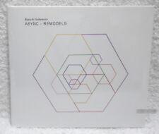 RYUICHI SAKAMOTO ASYNC REMODELS (Remix Album) Taiwan CD (digipak)