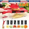 Multifunctional Vegetable Slicer Fruit Peeler Cutter Manual Vegetable Shredder