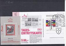 2000 Basilisken Souvenierblock Postfrisch ** mit Tageseintrittskarte