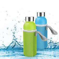 UK 1pc 500ml Water Bottle Bag Sleeve Bag Insulator Neoprene Bottle Cover Sport