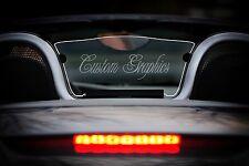 Porsche Boxster Windscreen rear wind deflector 986 1996-2004 Custom Etched & Lit