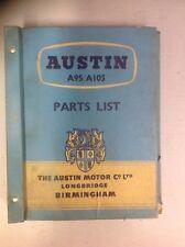 NOS AUSTIN A95/A105 Service Parts List