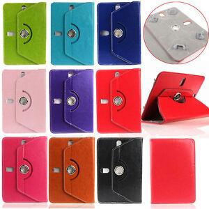 Universal Tasche für 10 Zoll Tablets Tablet Case 360° drehbar | Gelb gold
