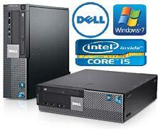 DELL Optiplex 980 SFF-Desktop-Core i5-650 - 4GB di RAM, unità disco rigido da 250GB-WIN 7 PRO