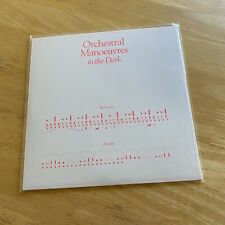 """ORCHESTRAL MANOEUVRES IN THE DARK Electricity CLEAR VINYL 7"""" NEW LIMITED ED OMD"""