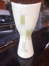 Vintage 1950s 1960s West German Pottery Modernist Scoop Vase 1310 / 20 Rare