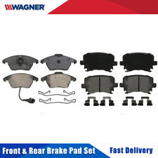 Front & Rear Premium 8 PCS Wagner Disc Brake Pads Complete Set For AUDI A3 2009