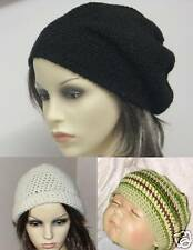 VERY EASY CROCHET HATS PATTERN /INSTRUCTION LEAFLET, all sizes, ref 3e
