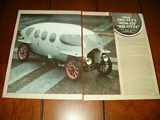1914 ALFA 40/60 HP RICOTTI STREAMLINER - ORIGINAL 1985 ARTICLE