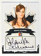 Monika Schnarre 2011 In The Game ITG Canadiana Autographed Auto Card #A-MS1