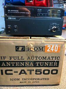 ICOM AT-500,HF Full Automatic Antenna Tuner