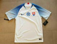 Men's Nike Slovakia Stadium Home Soccer Jersey White Aa7691-100 Size 2xl $90 Nwt