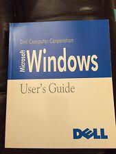 Dell Microsoft Windows 3.1 User's Guide - paperback 1992