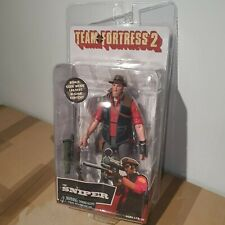 "NECA TEAM FORTRESS 2 SERIES 4 RED THE SNIPER 7"" inch ACTION FIGURE 2018"