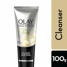 Olay Total Effects 7-In-1 Anti Aging Foaming Face Wash Cleanser, 100g Free Ship