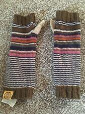 Joules Girls S/M Gloves Wristwarmers Striped