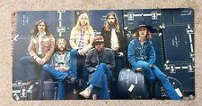 Gregg Duane Allman Brothers Band Fillmore East Vintage Photo Poster Metal Sign