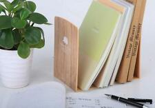 Retro Plastic Bookend Book Holder Student Stationery Office School Supplies