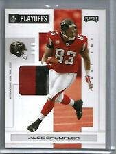 Alge Crumpler 2007 Playoff Game Used Jersey Patch #5/5