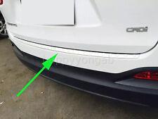 Outer Rear Bumper Protector Cover Trim For 2015-2017 KIA SORENTO Steel Plain