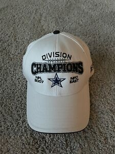 Dallas Cowboys NFL 2007 NFC East Playoffs Authentic Sideline Reebok Cap Hat New