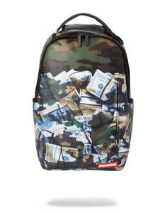 Brand New SPRAYGROUND TOUGH MONEY BACKPACK Unisex School Laptop