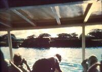 Vintage Photo Slide 1960s Pearl Harbor Tourist Cruise USS Utah Kodachrome