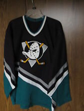ANAHEIM MIGHTY DUCKS HOCKEY JERSEY SZ MEN'S LARGE NHL CCM HELMET COMBO PACK LOT