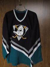 ANAHEIM MIGHTY DUCKS HOCKEY JERSEY SZ MEN'S LARGE NHL CCM HELMET COMBO PACK LOT