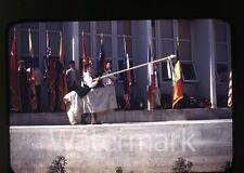 1950s Kodachrome photo slide Vallejo CA Teenage boys and girls school #15