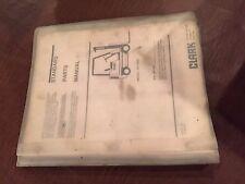 CLARK FORKLIFT PARTS CATALOG GP138 138 BOOK MANUAL