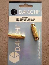 RCA Gender Bender Socket To Socket AD 955