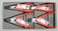 VBW Germany 777-000 Circlip Pliers Set Inside Outside Straight and Bent Tips